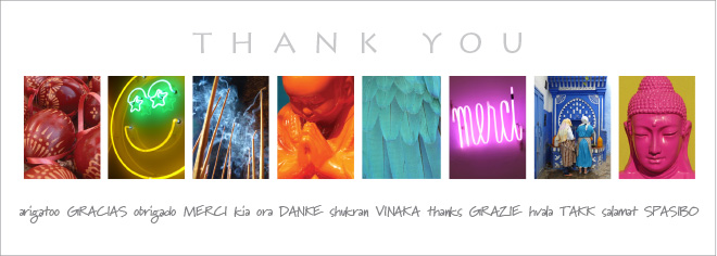 New Thanks Postcard